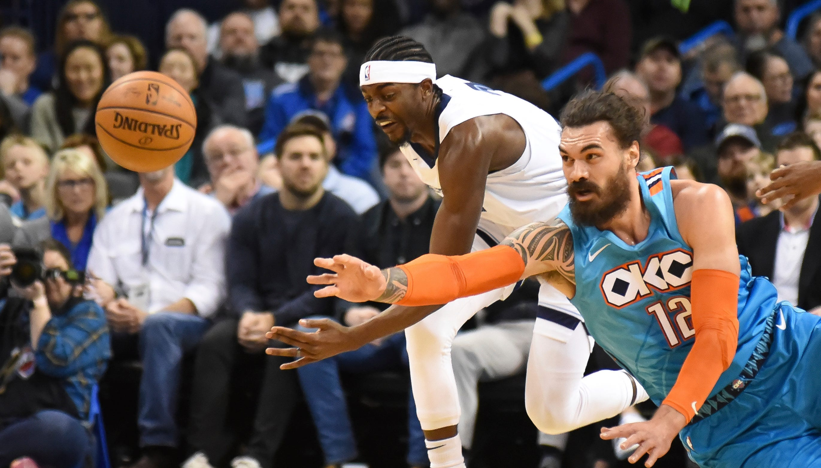 Image result for oklahoma city thunder vs memphis grizzlies march 3 2019