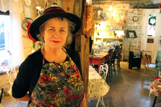 Cathy Cryor Burgweger operates Franklin Grove Etc., a restaurant and store in unincorporated Attica.