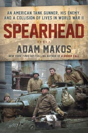 "Stars and Stripes Honor Flight book club is reading ""Spearhead: An American Tank Gunner, His Enemy and a Collison of Lives in World War II"" by Adam Makos."