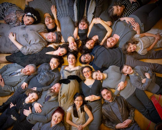'Carmina Burana' cast members prepare for Skylight Music Theatre's production, which takes place March 15-31 at Broadway Theatre Center, 158 N. Broadway.