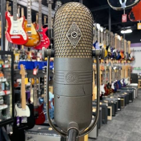 A vintage microphone stolen from a Greenfield music store has been recovered following social media buzz
