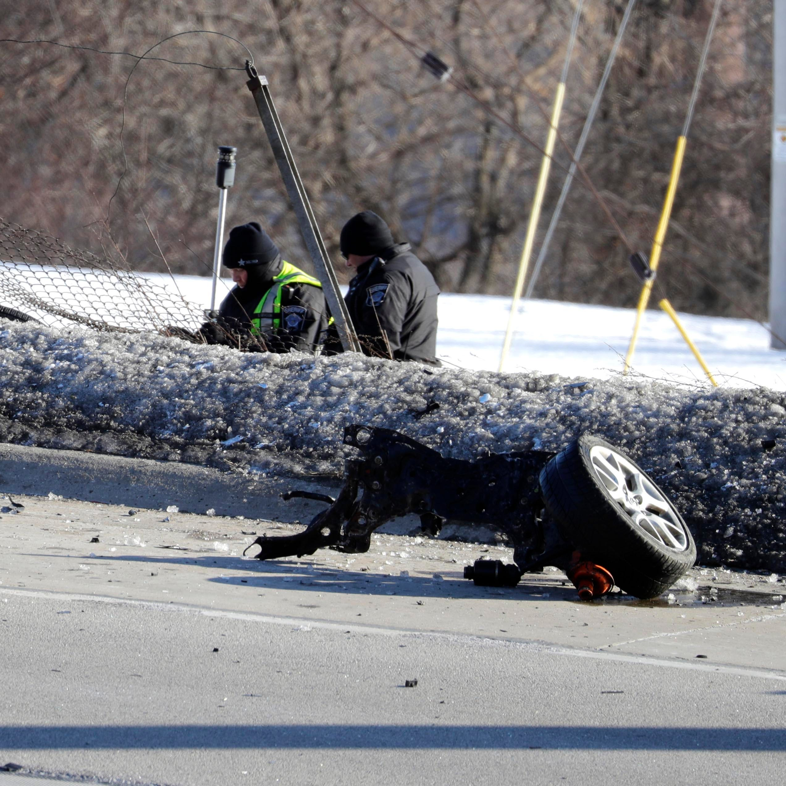 Freeway crash victim identified