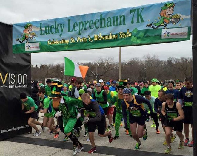 Celebrate St. Patrick's Day while supporting the MACC Fund with the Lucky Leprechaun 7K run/walk in Wauwatosa March 16.