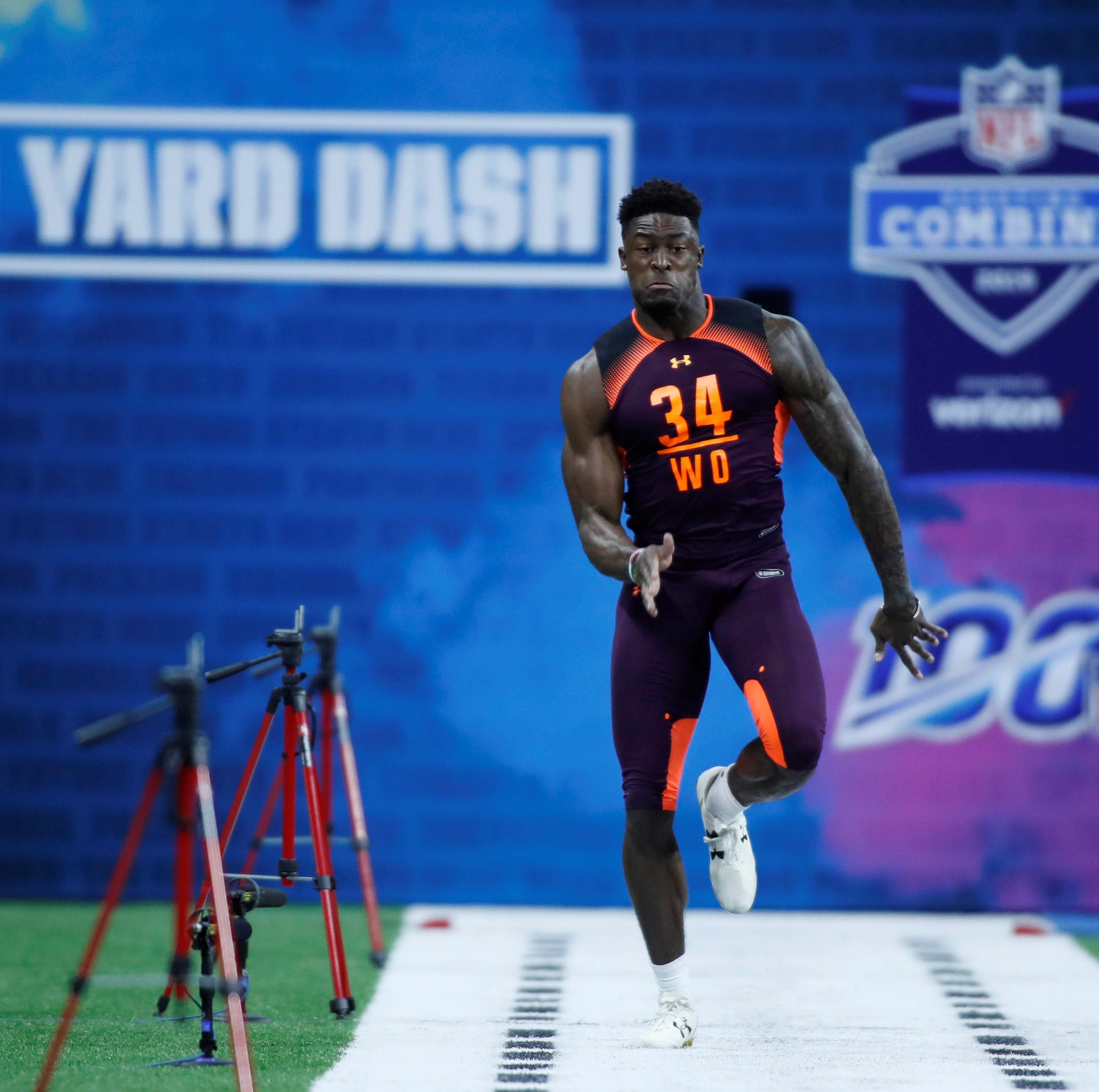 Rebels' Metcalf makes strong case for being best receiver in NFL Draft