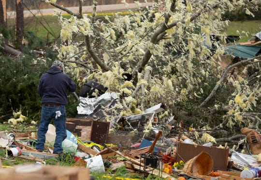 A destructive EF-3 tornado ripped through Lee County and the Beauregard community killing at least 23 residents.