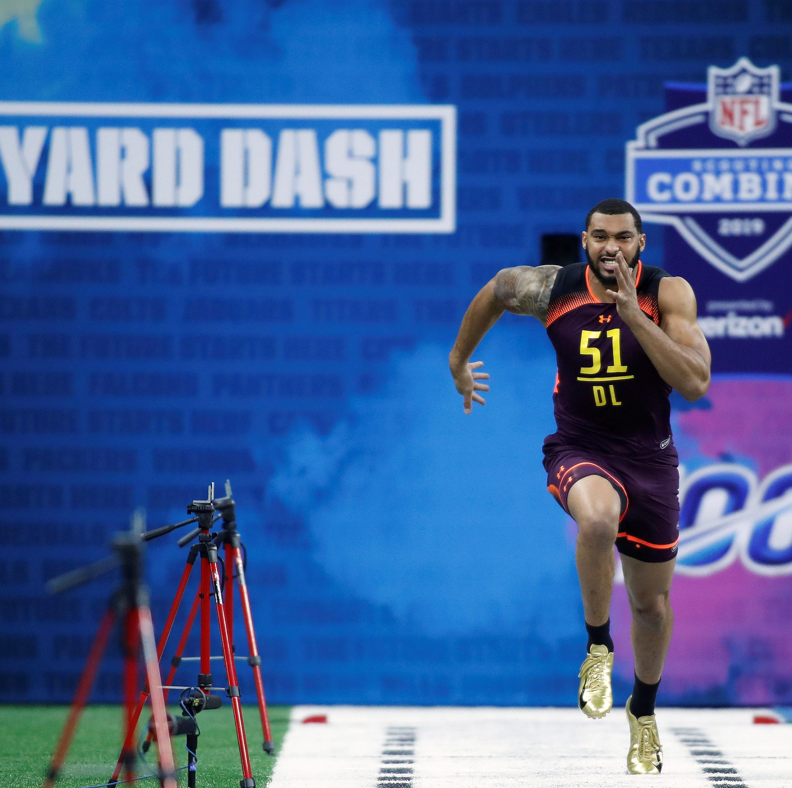 MSU's Montez Sweat takes NFL by storm with Combine performance