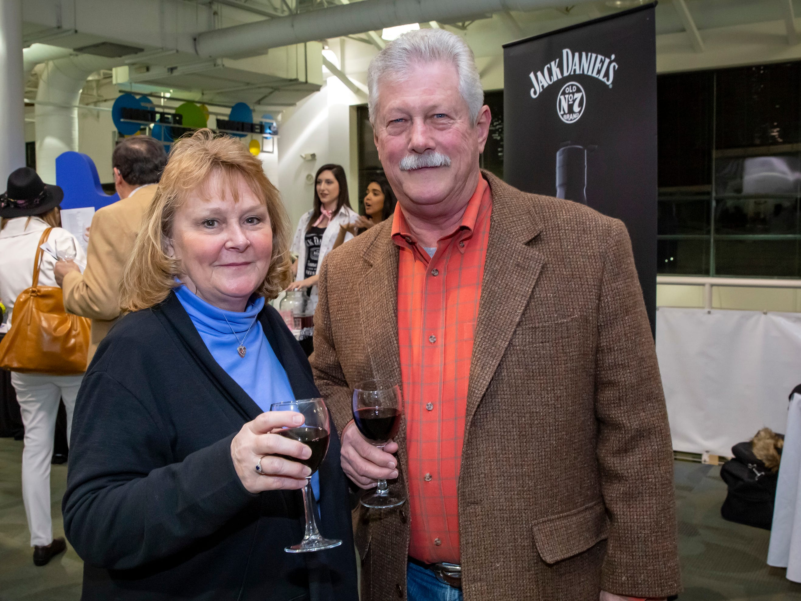 6th annual Wine and Whiskey at the Wetlands event held at the Discovery Center.