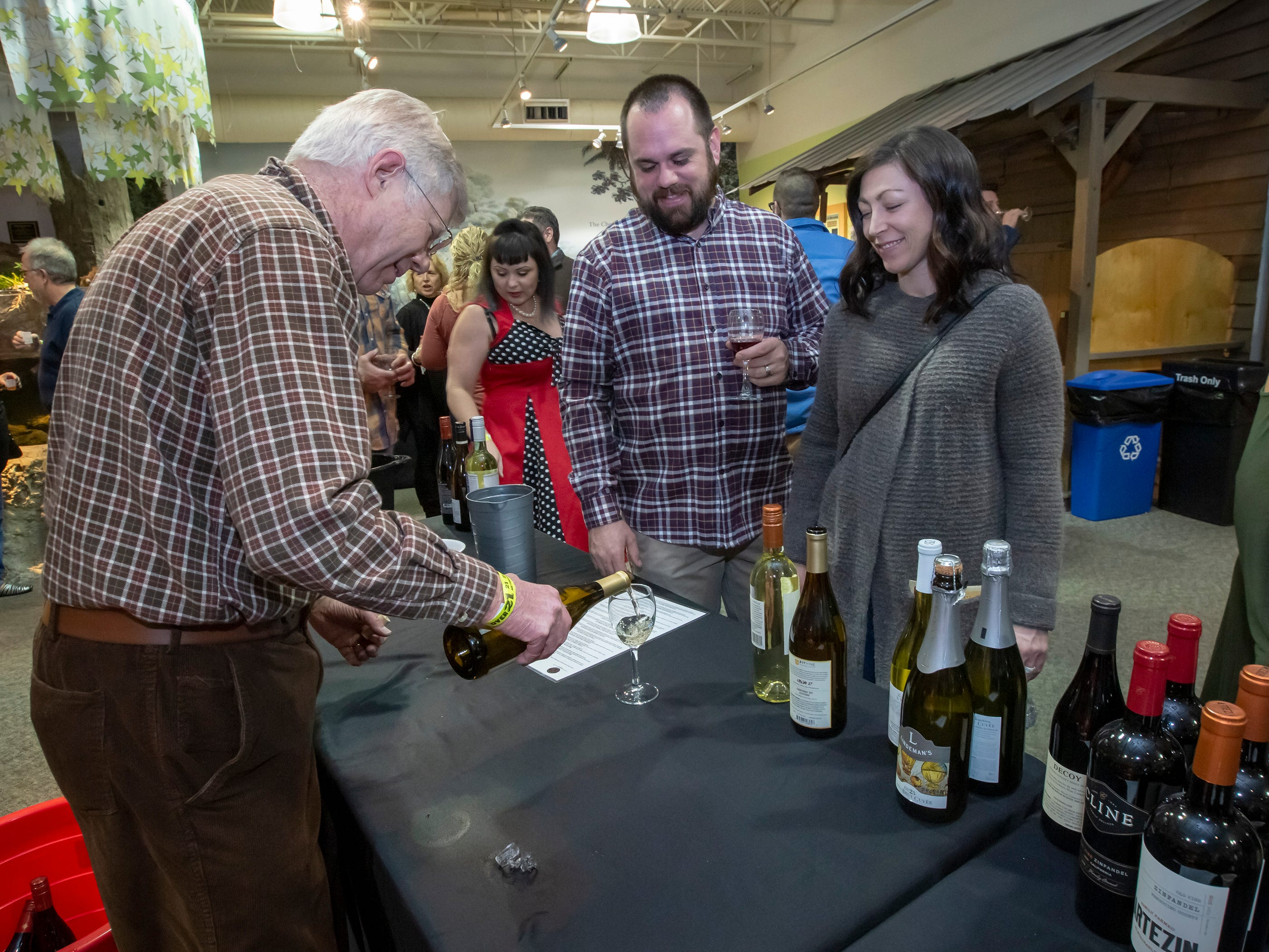 The sixth annual Wine & Whiskey at the Wetlands event was held Friday, March 1, 2019 at Discovery Center at Murfree Spring.