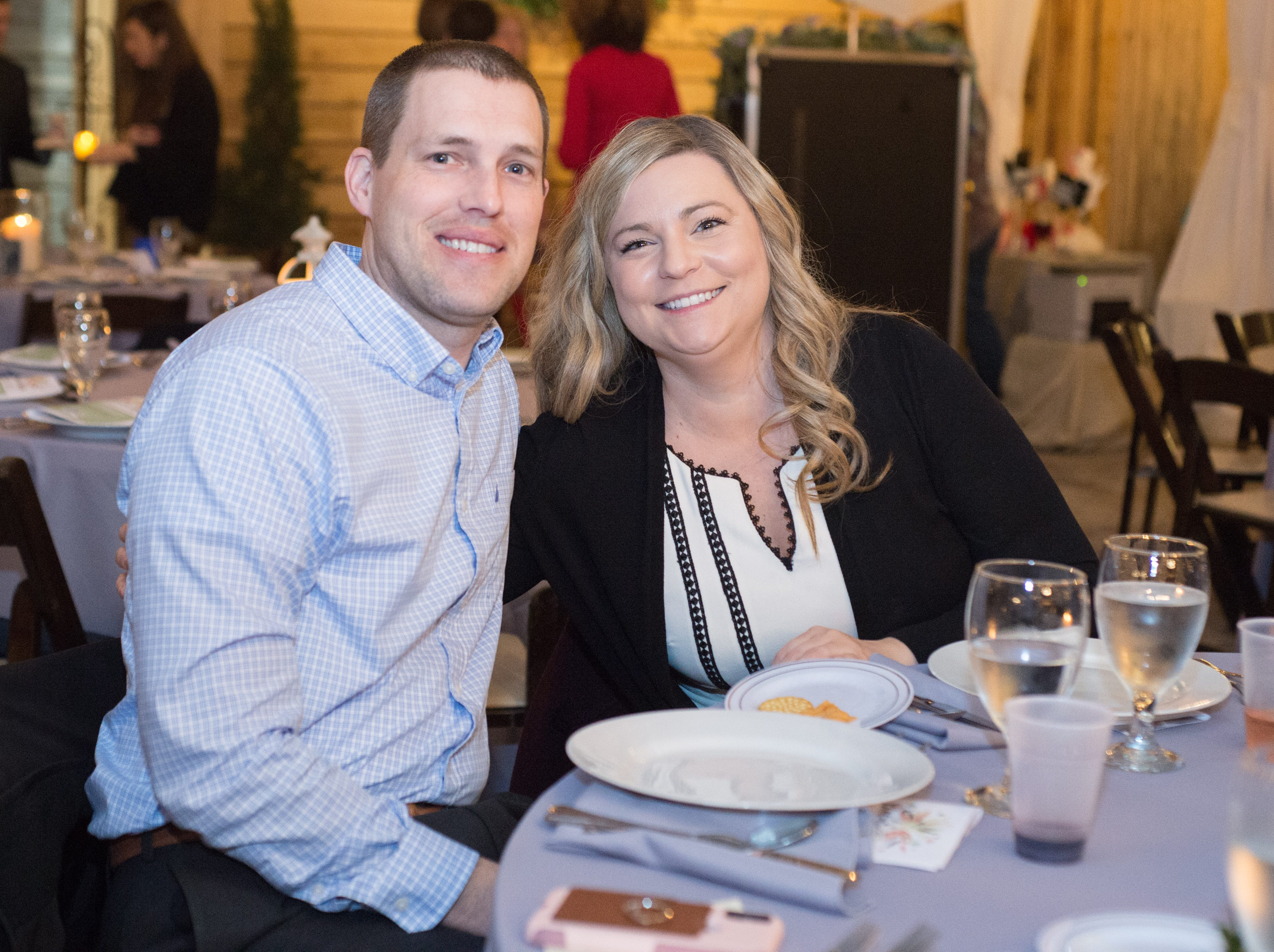 Attendees enjoy United Way of Sumner County's Bloomin' Bash Gala and Auction at Long Hollow Gardens in Gallatin on Friday, March 1.