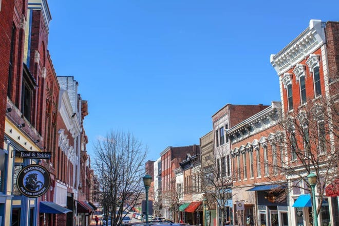 Screaming Eagle Trail: Downtown Clarksville has become a booming business for vendors.