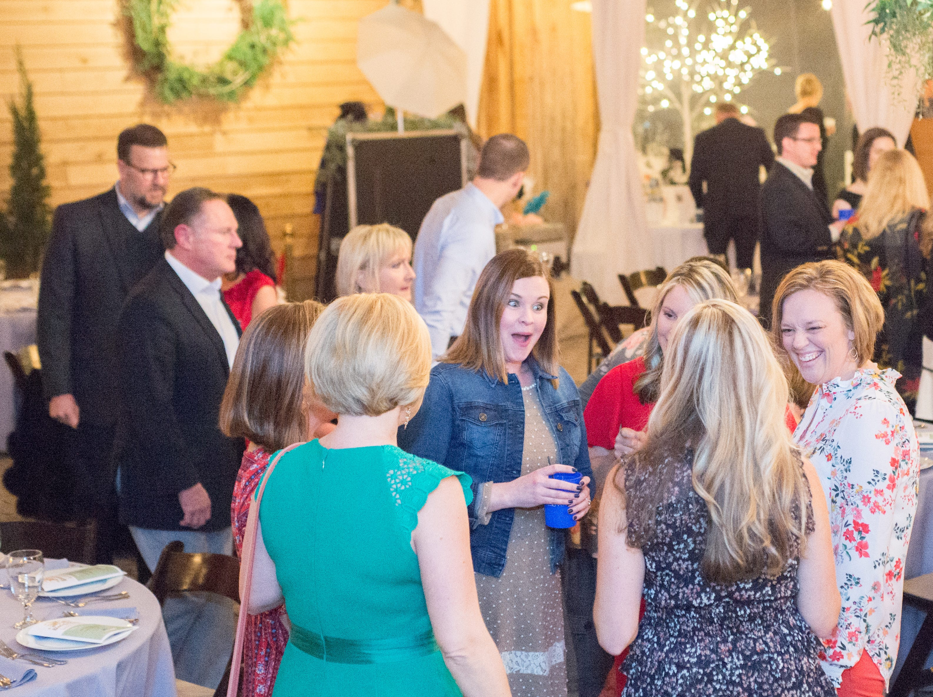 Good times during United Way of Sumner County's Bloomin' Bash Gala and Auction at Long Hollow Gardens in Gallatin on Friday, March 1.