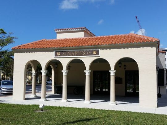 The Naples Depot Museum is pictured on Tuesday, Feb. 23, 2016. The museum is housed in Naples' restored Seaboard Air Line Railway passenger station.
