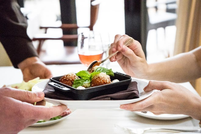 In celebration of National Meatball Day on Saturday, March 9, Angelina's Ristorante in Bonita Springs is featuring savory lamb meatballs and traditional Calabrese-style pork meatballs.