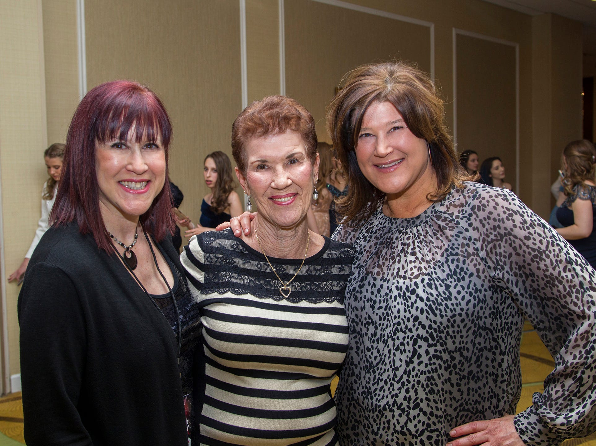 Angela, Carol, Donna. Ridgewood High School seniors held their Project Graduation fashion show at the Teaneck Marriott at Glenpointe. Students walked the runway in this season's latest fashion trends. All funds raised benefited the school's Project Graduation Fund for the class of 2019. 03/03/2019