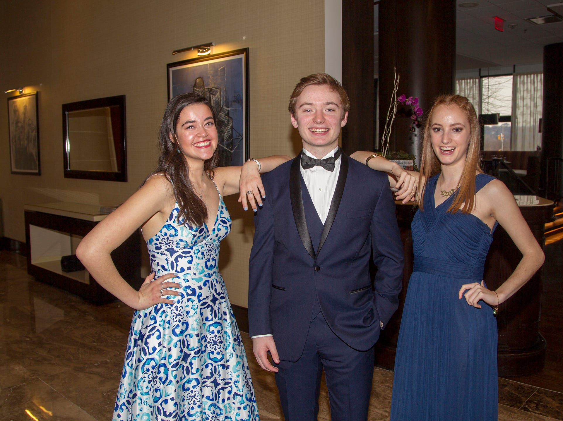 Ridgewood High School seniors held their Project Graduation fashion show at the Teaneck Marriott at Glenpointe. Students walked the runway in this season's latest fashion trends. All funds raised benefited the school's Project Graduation Fund for the class of 2019. 03/03/2019