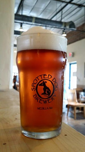 IPA lovers will find in Spotted Dog's IPA a refreshing blend of roasted barley with hops at 5.7 ABV and 60 IBUs. The amber ale is a refreshing brew that goes easy on the hops with a harmony of roast and malt flavor, and a beautiful color.