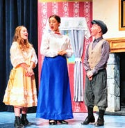 """Tara Gandy, from left, Francesca Perez-Wright and Carter Chamberlin who recently appeared in """"Mary Poppins"""" at the Las Cruces Community Theatre are three of the performers participating in NMSU Theatre Department's one-night-only presentation of """"Broadway On Stage,"""" Sat., March 9 at the ASNMSU Center for the Arts."""