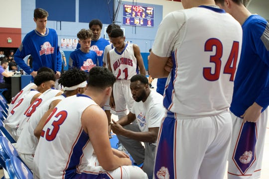 The Las Cruces boys basketball team was seeded No. 2 in the Class 5A state basketball tournament.