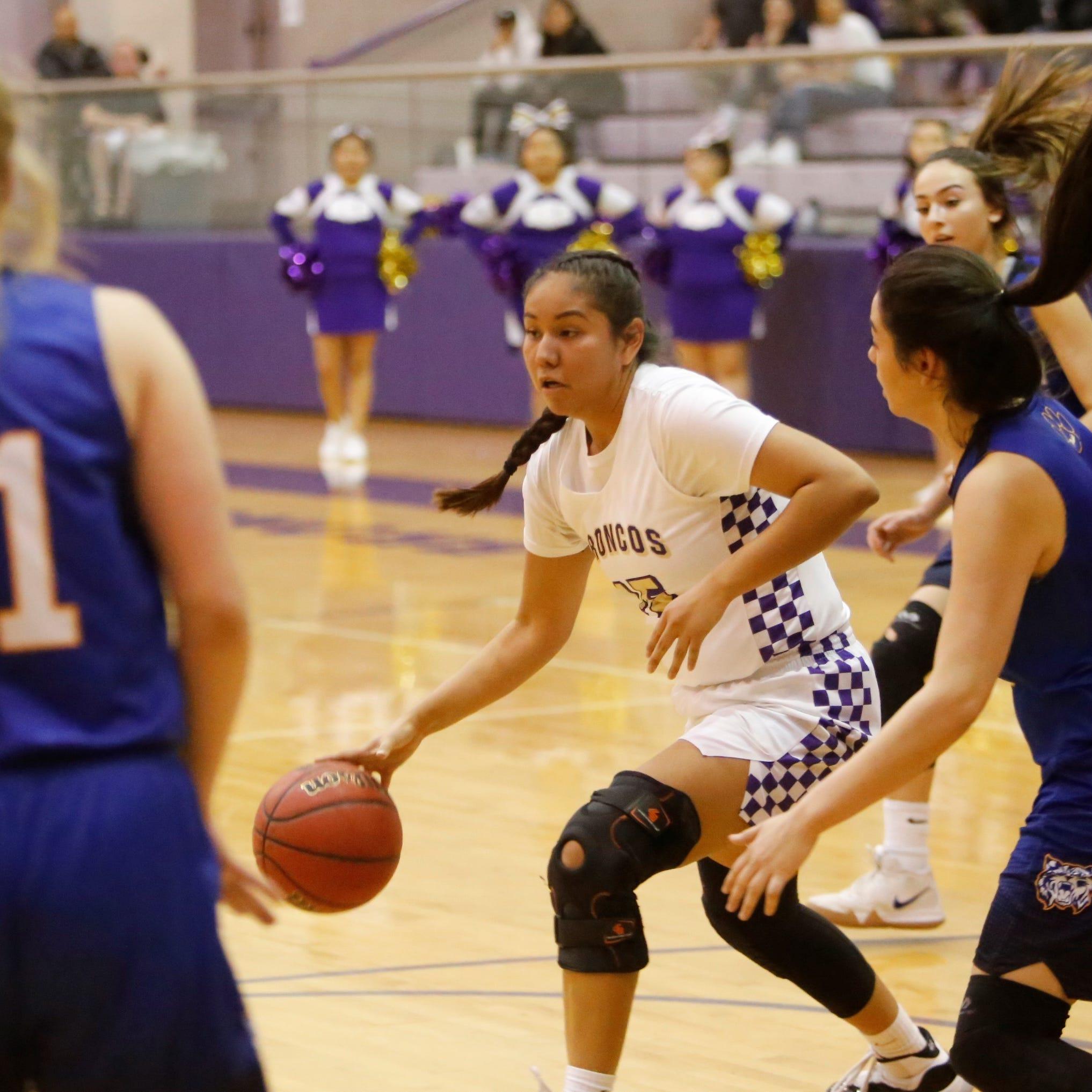 Kirtland girls basketball get No. 1 seed in 4A playoffs