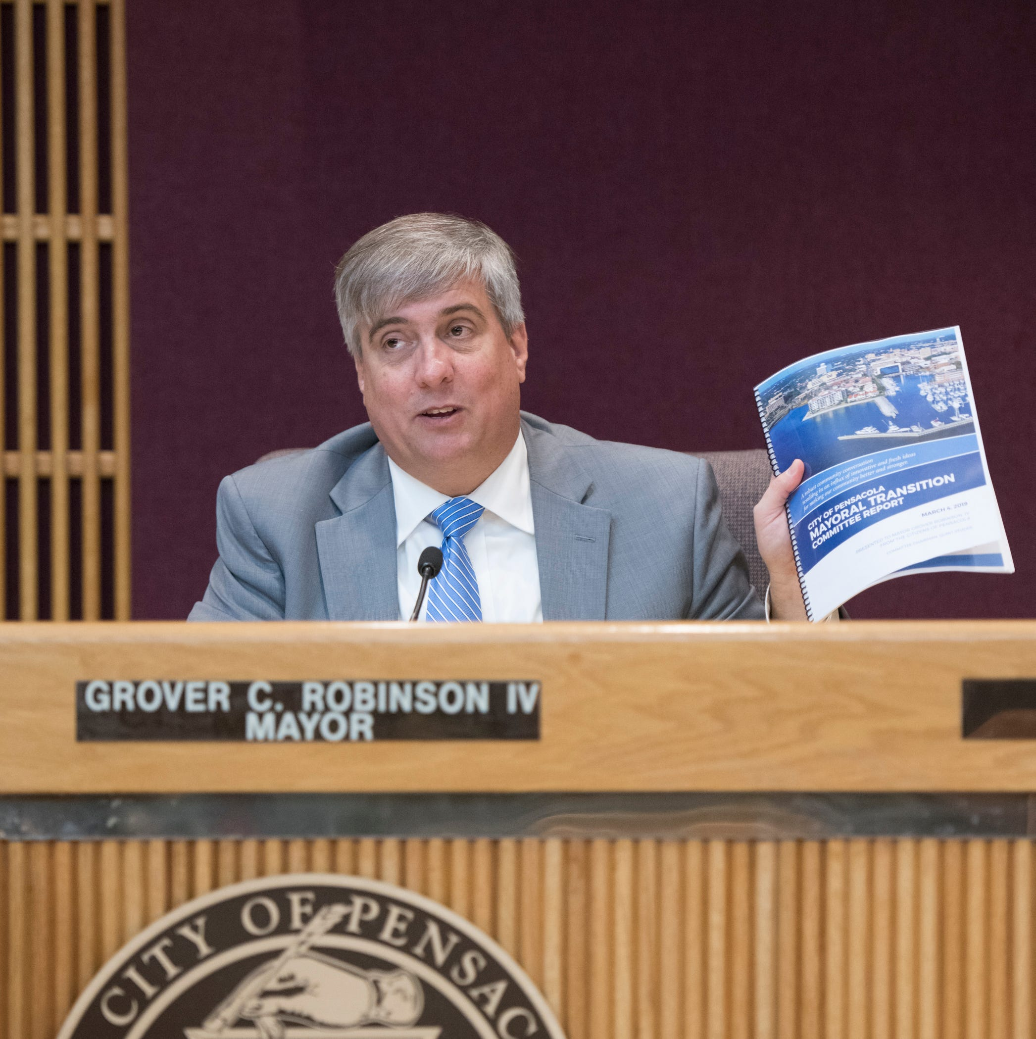 Pensacola Mayor Grover Robinson personally repays city for transition team expense
