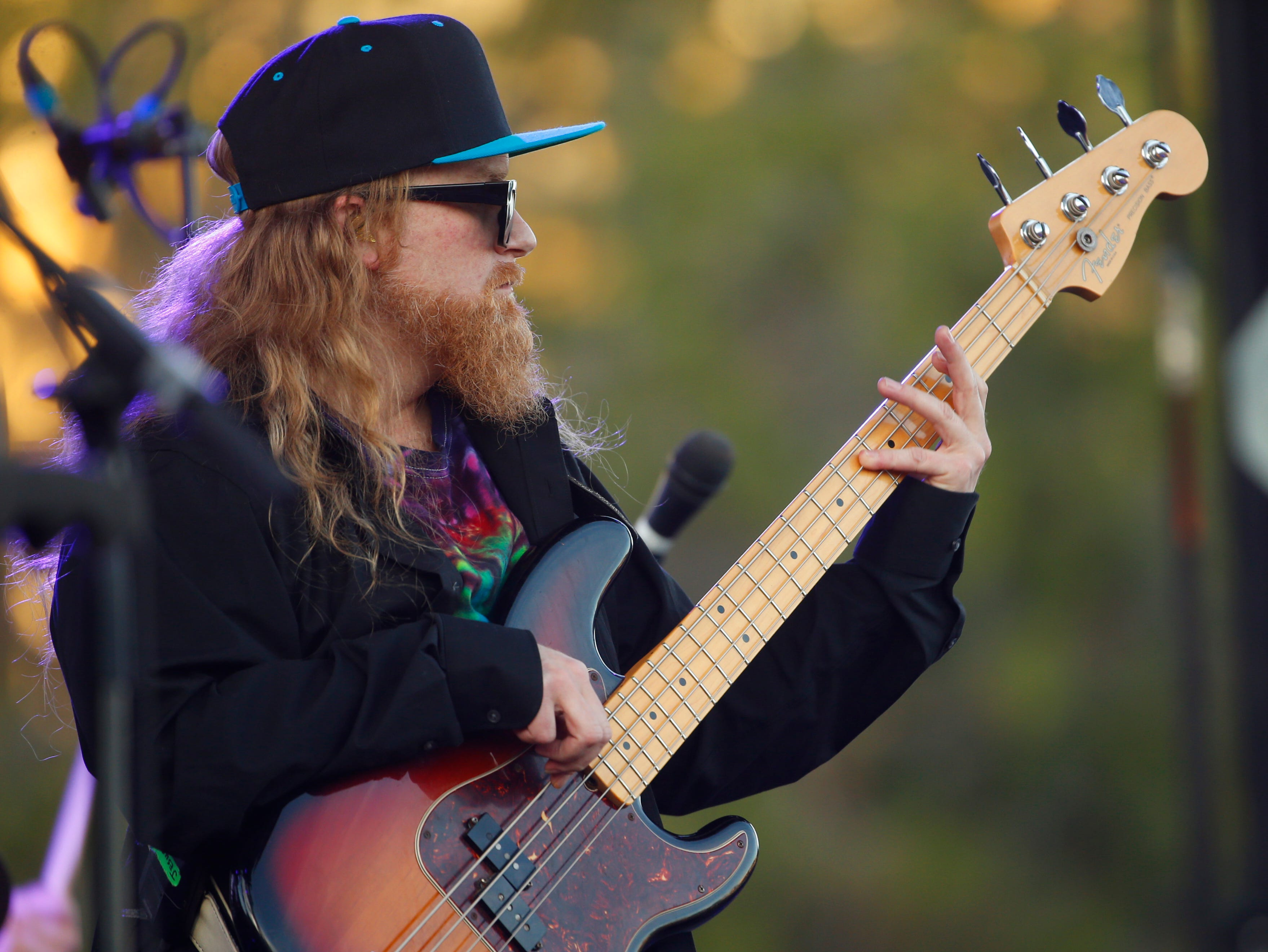 Lettuce performs during McDowell Mountain Music Festival in Phoenix on March 3, 2019.