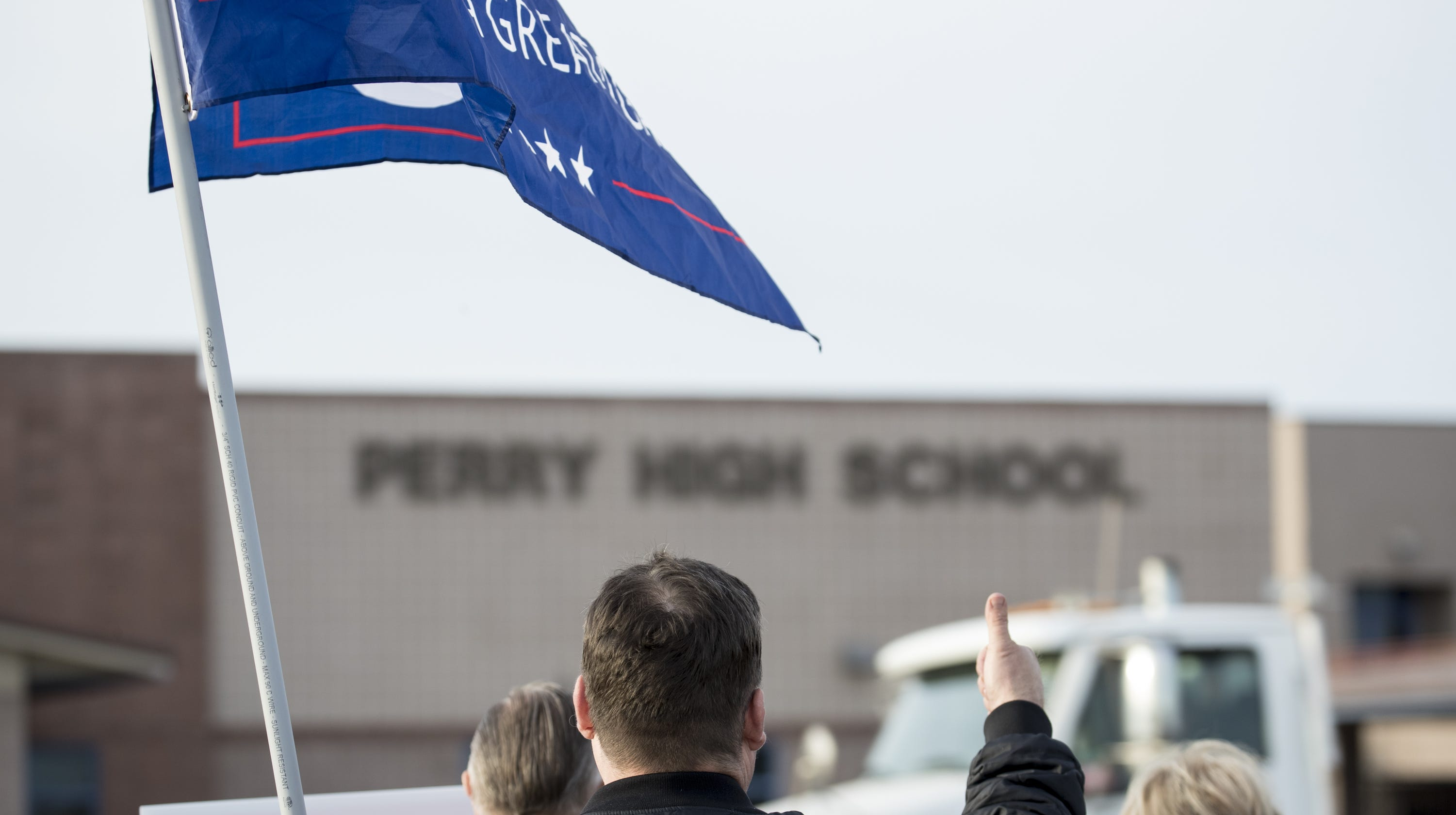 Mom Of Perry High MAGA Students Has Tie To 2018 Racist
