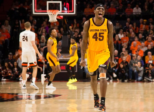 Arizona State Sun Devils forward Zylan Cheatham and the Sun Devils have work to do to make the NCAA Tournament.