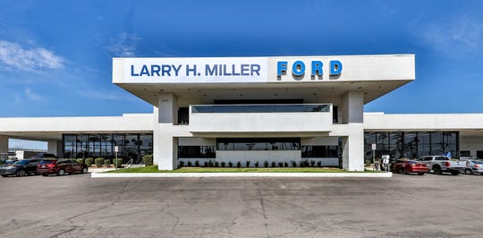 Larry H. Miller Dealerships purchased Berge Ford in Mesa.