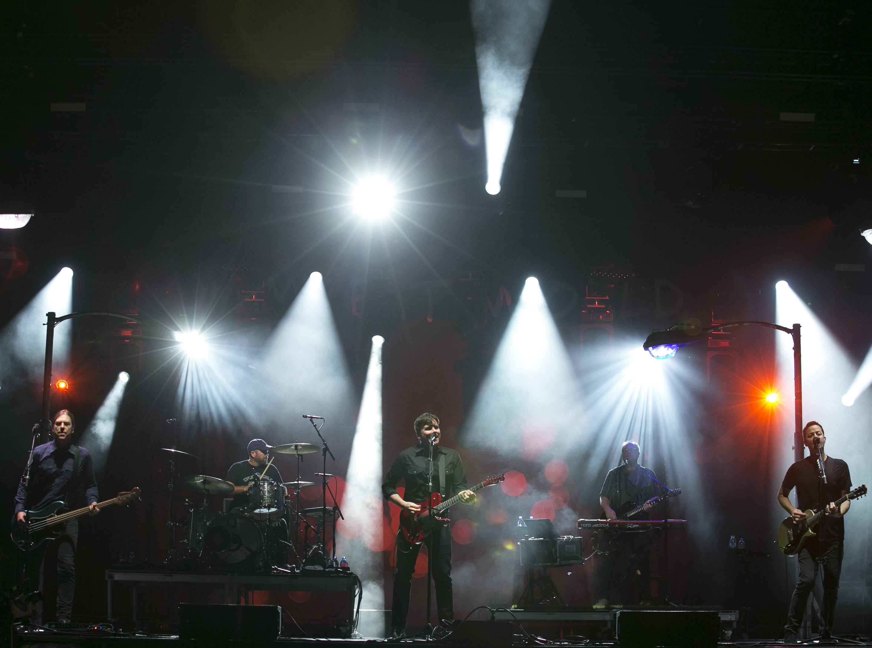 Jimmy Eat World perform at the Innings Festival at Tempe Beach Park on March 3, 2019.