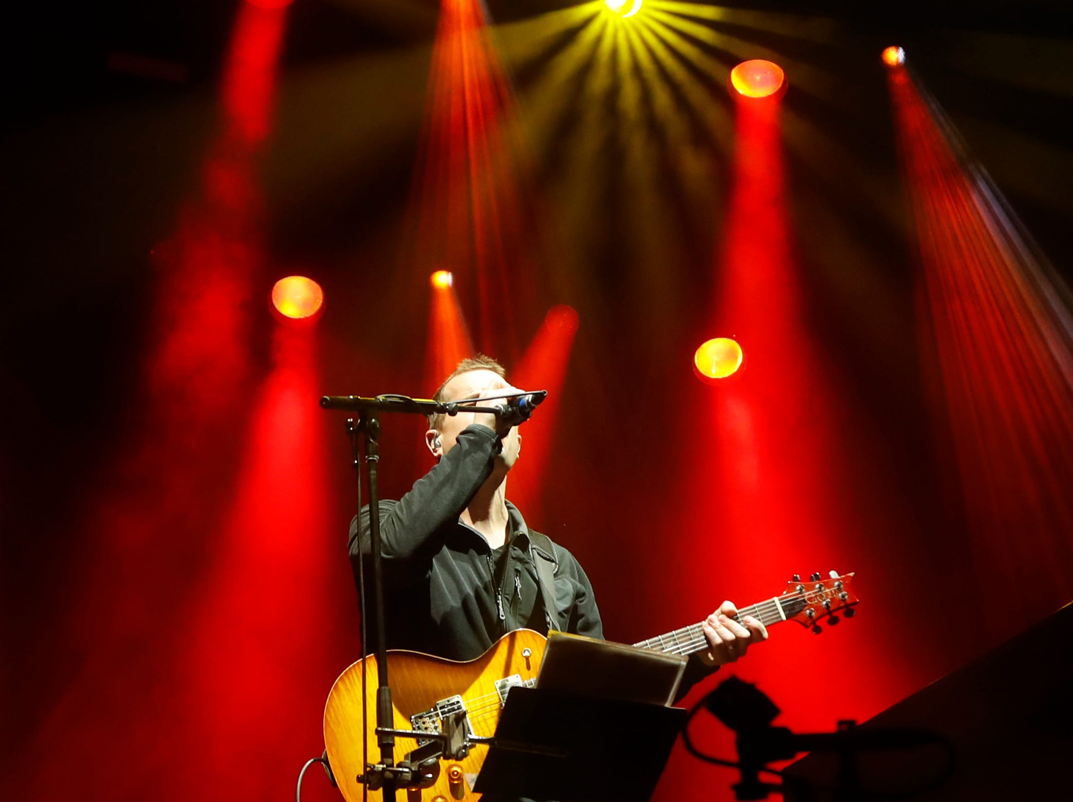 Umphrey's McGee performs during McDowell Mountain Music Festival in Phoenix on March 3, 2019.
