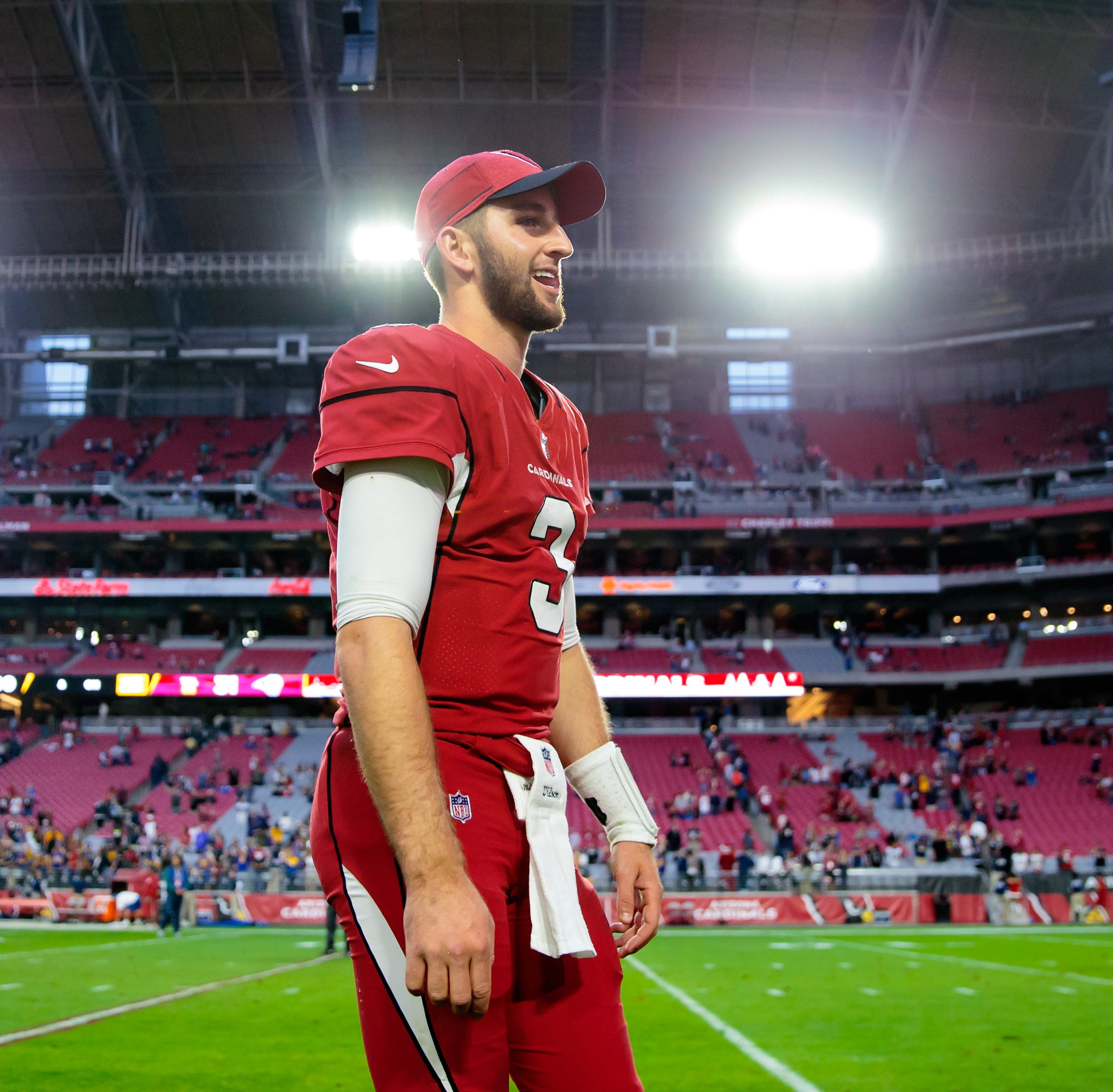 Cardinals' Josh Rosen opens up in SITV interview: 'I definitely understand the situation'
