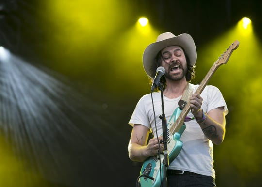 Shakey Graves perform at the Innings Festival at Tempe Beach Park on March 3, 2019.