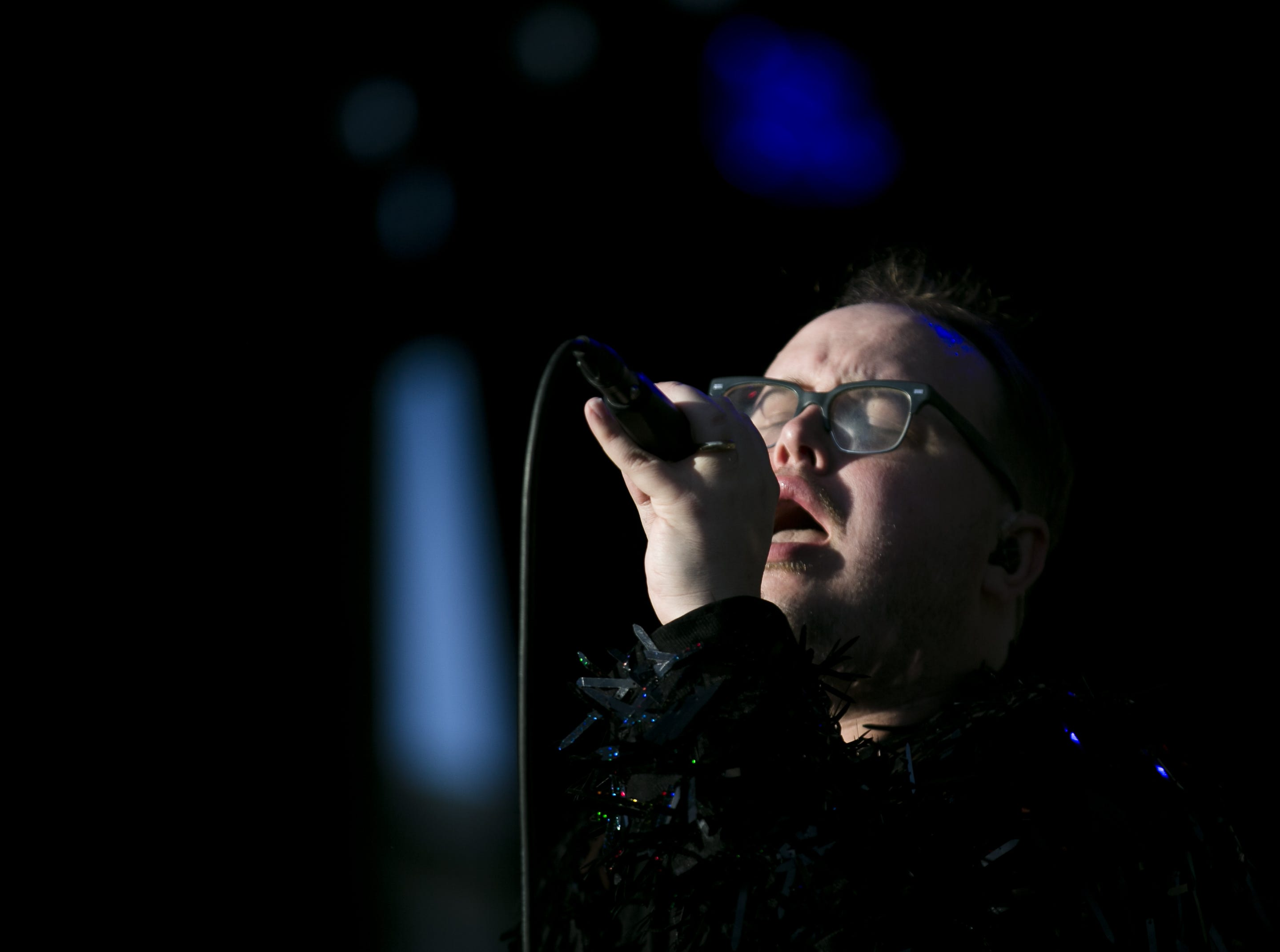 St. Paul and the Broken Bones perform at the Innings Festival at Tempe Beach Park on March 3, 2019.