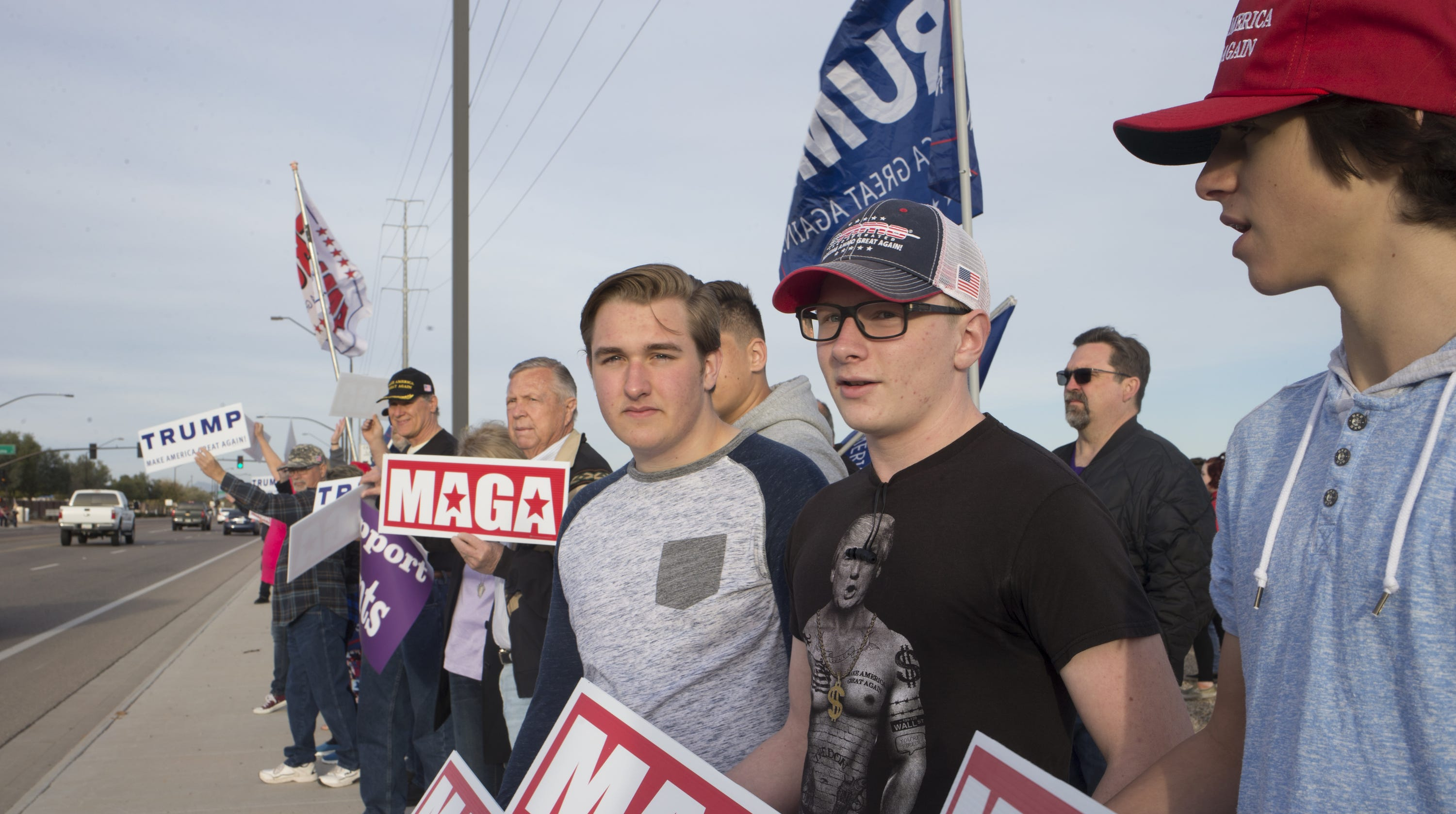 1e41767e3d8 Arizona high school students  MAGA gear incident  Here s what we know