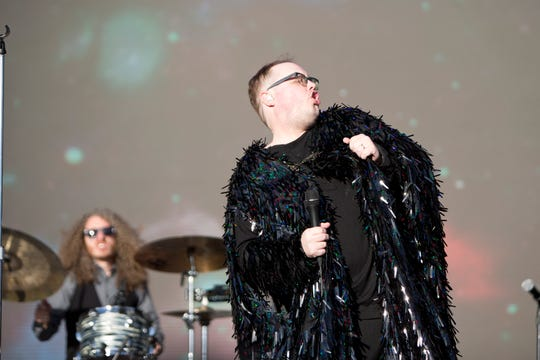 St. Paul and the Broken Bones perform during the Innings Festival on March 3, 2019, at Tempe Beach Park.