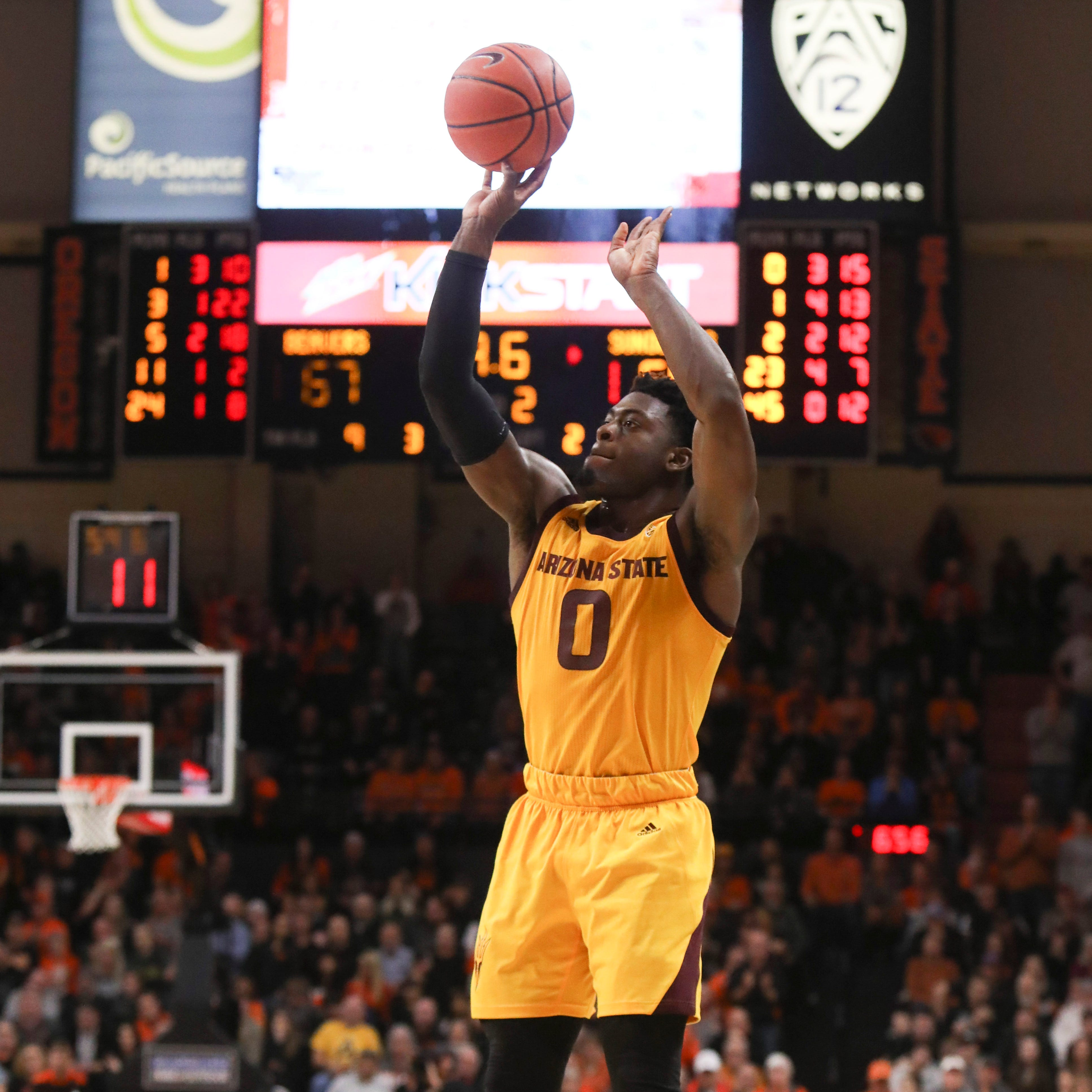 Freshman Luguentz Dort leading the Sun Devils in regular season finale against Arizona