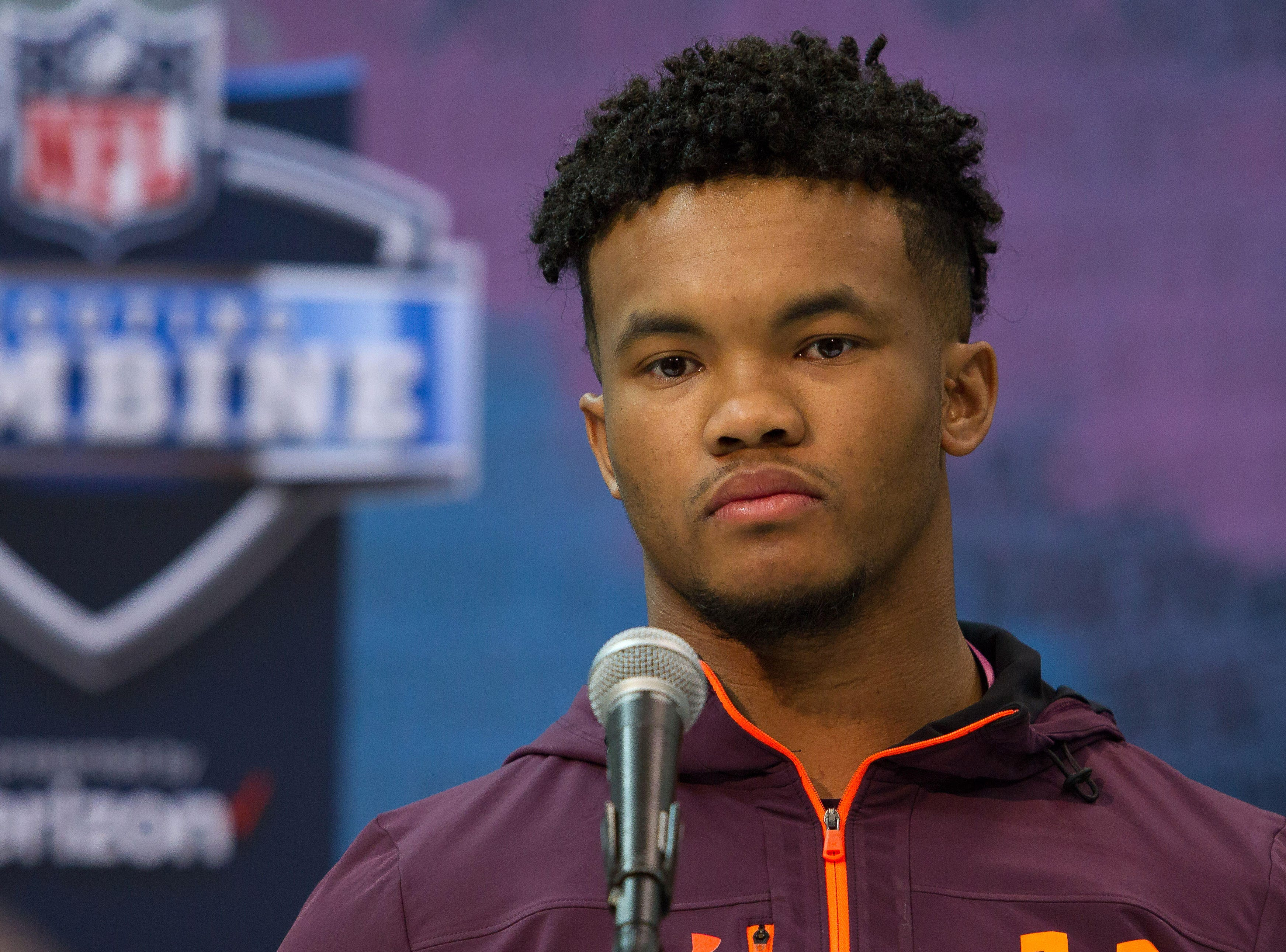 It's very clear what the Cardinals are going to do if you zoom in on Kyler Murray's eyes.