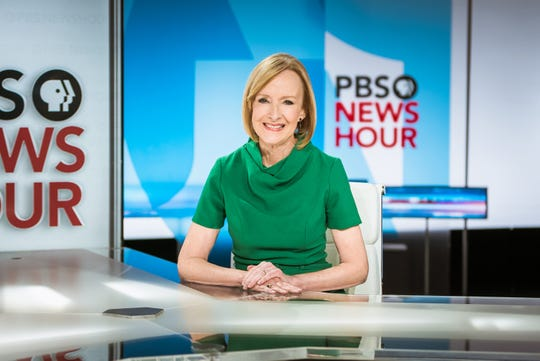 Judy Woodruff, anchor of PBS NewsHour.