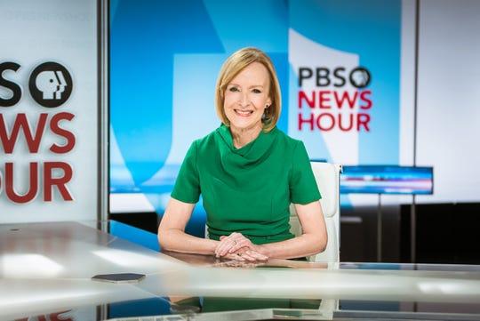 Judy Woodruff, anchor of PBS NewsHour.