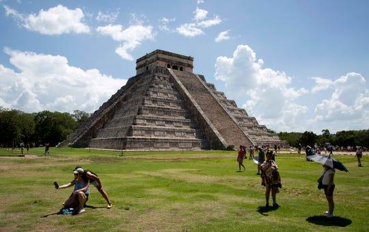 Ruinas de Chichen Itzá