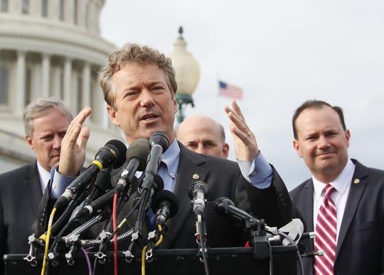 Rand Paul, senador republicano.