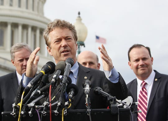 Rand Paul, senador republicano.