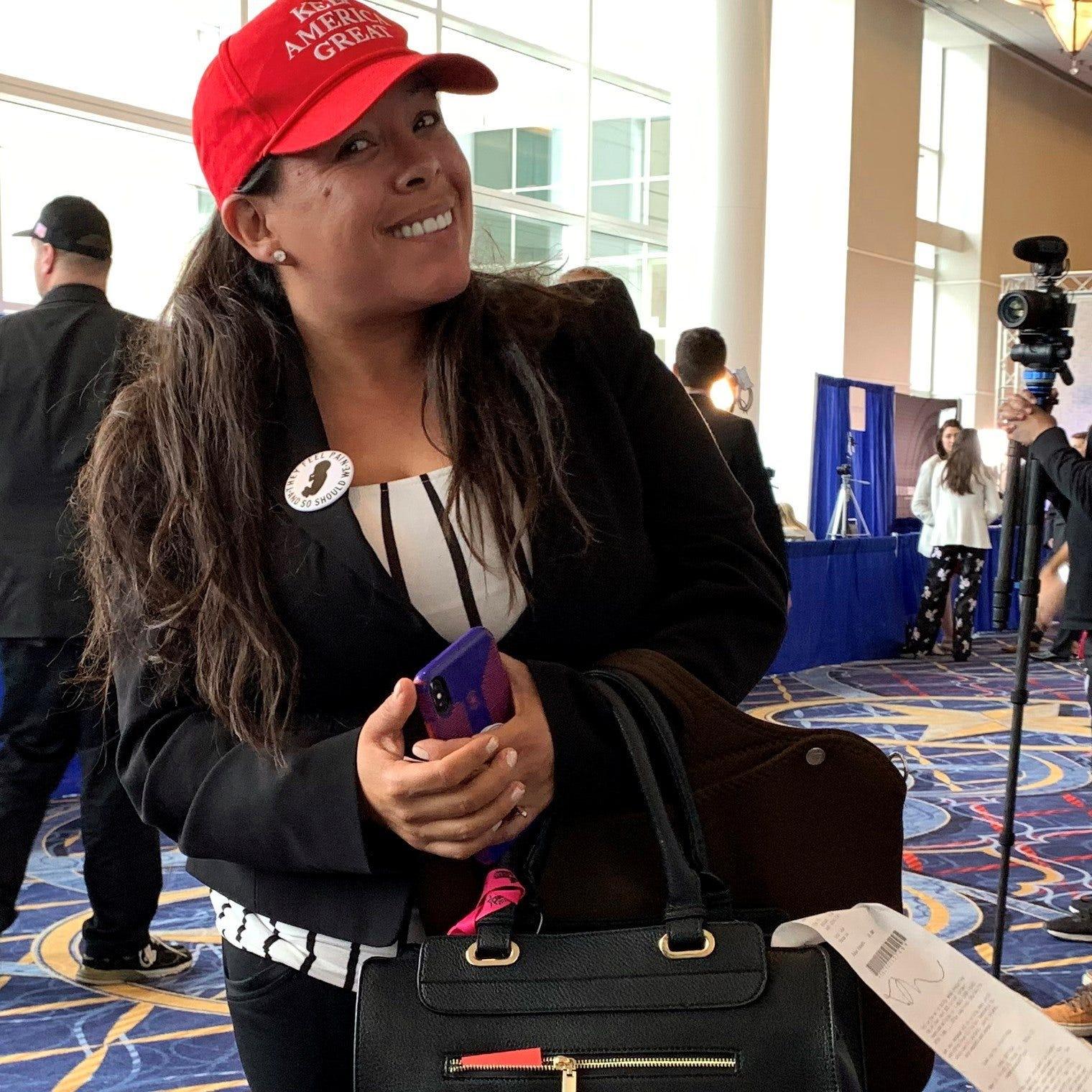 """""""Paloma For Trump"""", la latina """"influencer"""" que adora al presidente de EE.UU."""