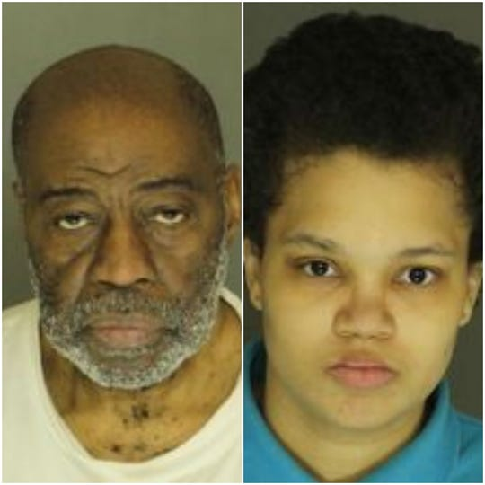 Charles M. Benjamin, 72, left, and Janay Fountain, 25, of the 1300 block of West Market Street in West York, were arrested in connection with the alleged abuse of several of their children.