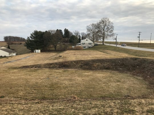 A developer wants to build a dollar store on this site along the Susquehanna Trail in Springfield Township.