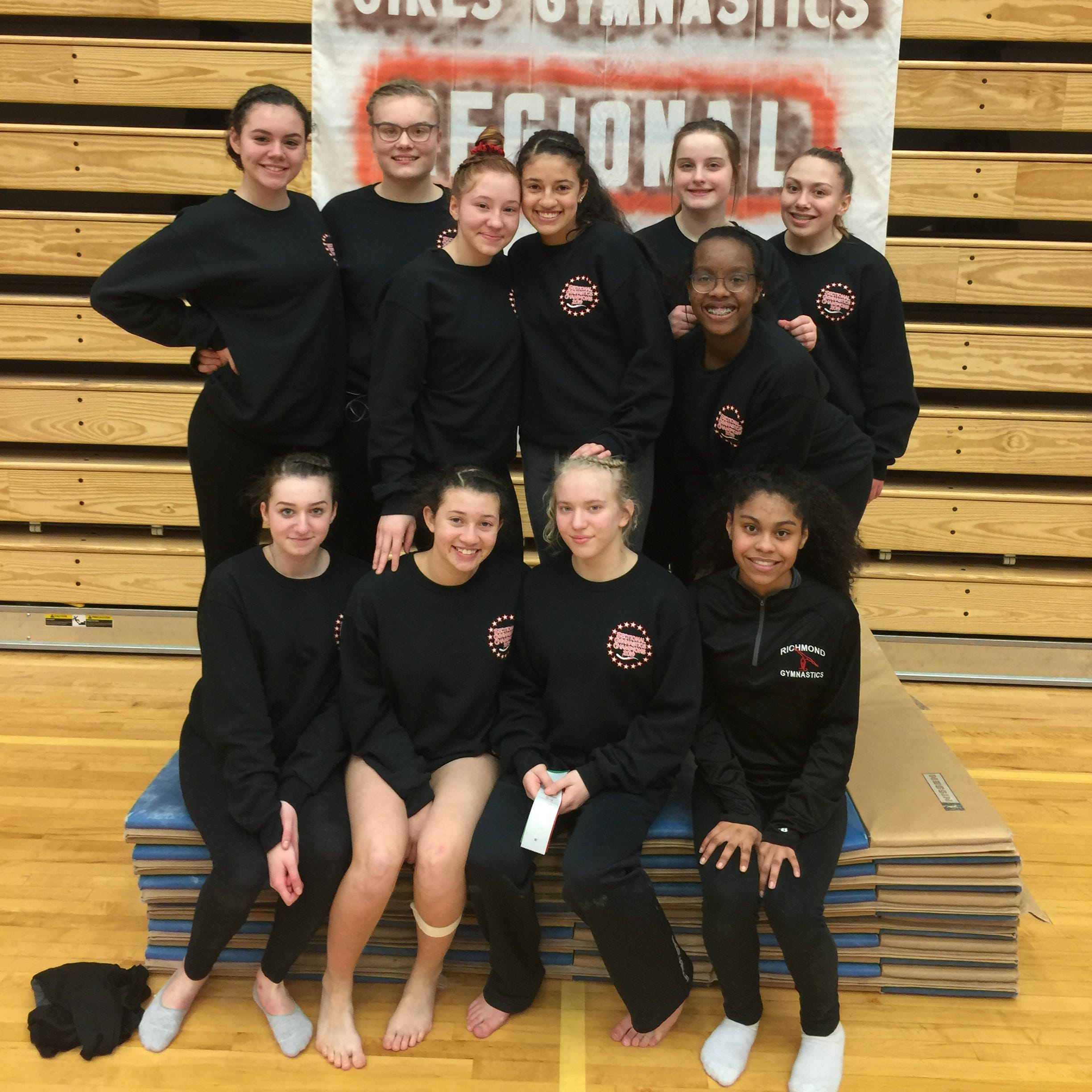 RHS gymnasts advance to state finals