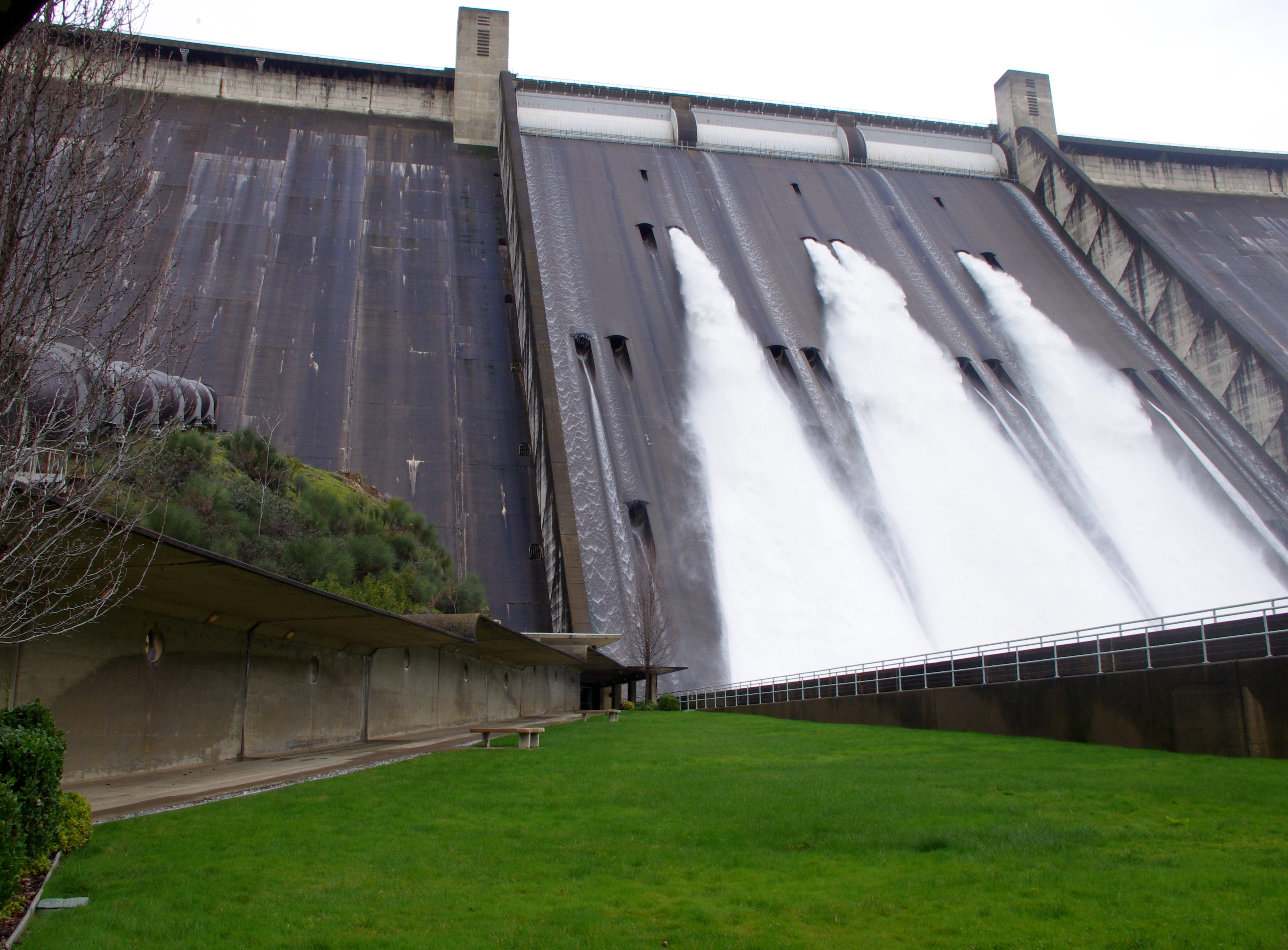 The Bureau of Reclamation has increased the amount of water coming out of the dam to 30,000 cubic-feet per second.