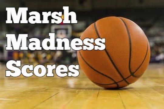 Marsh Madness scores.