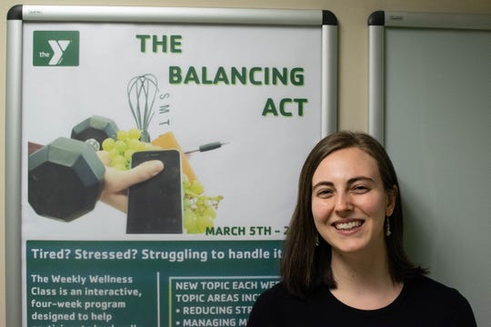Murphy Deming College of Health Sciences doctoral student Catherine Western will lead a wellness course at the Staunton-Augusta Family YMCA during spring 2019.