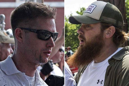 "Charlottesville, Virginia, police are still looking for two of the six men who attacked DeAndre Harris, a 20-year-old black man, in a city parking garage during the 2017 ""Unite the Right"" rally in Charlottesville."